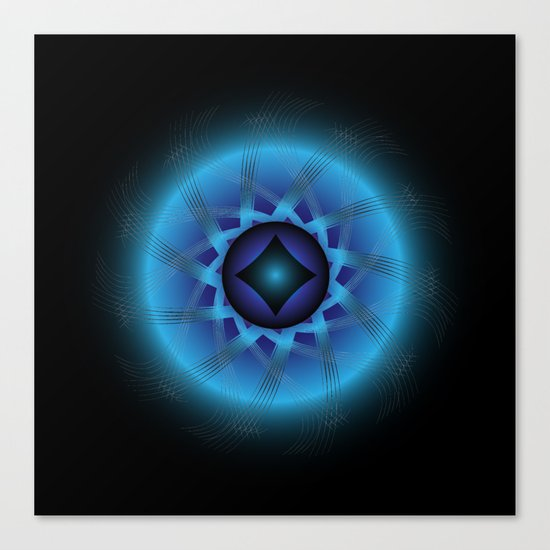 Circle Study No. 472 Canvas Print