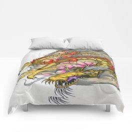 Warp Dragon Comforters