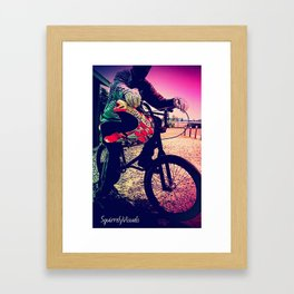 Unknown Racer Framed Art Print