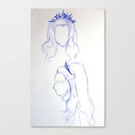Queen Canvas Print