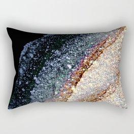 FLAWLESS GREY & GOLD Rectangular Pillow