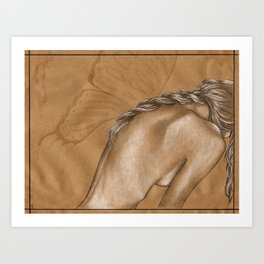 Wingless Art Print