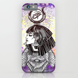 Goddess Isis and the Reigning Light iPhone Case