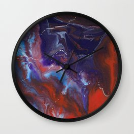 The Stars in Your Eyes Wall Clock
