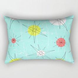 Atomic Era Art 'Planets' Rectangular Pillow