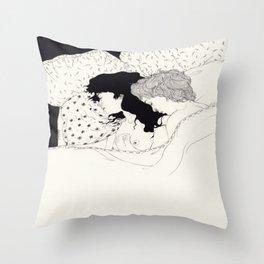 Fake Shelter Throw Pillow