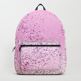 Sparkling UNICORN Girls Glitter Heart #1 #decor #art #society6 Backpack