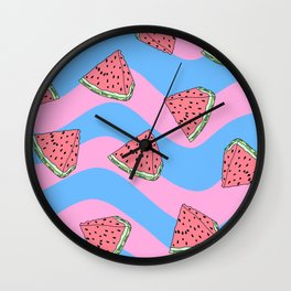 Watermelon Candy Wall Clock