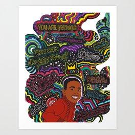 """""""The Chamer"""" Ilustration Art Print"""