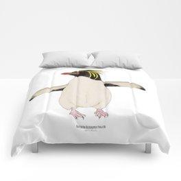 Northern Rockhopper Penguin (eudyptes moseleyi) Comforters