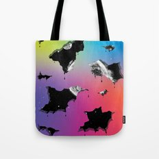 Cosmic Matter and the Neon Spectrum Tote Bag