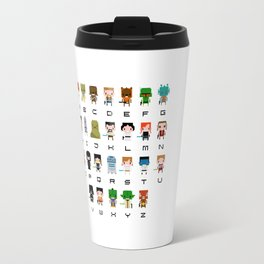 Star Wars Alphabet Travel Mug
