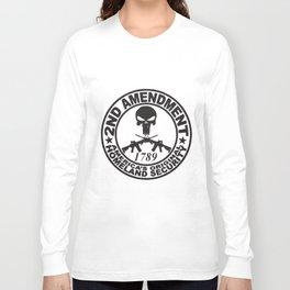 Original Homeland Security 1789 Second 2Nd Amendment Gun T-Shirts Long Sleeve T-shirt