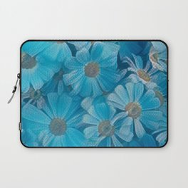 abstract daisy in bloom in spring Laptop Sleeve