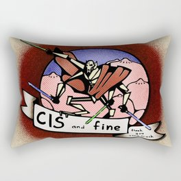 CIS Rectangular Pillow
