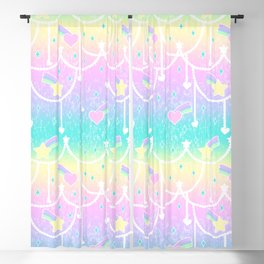 Beads and Stickers Blackout Curtain