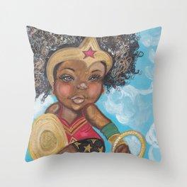 Lil Wonder Throw Pillow