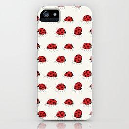 Ladybug rush - Pattern iPhone Case