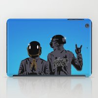 daft punk iPad Cases featuring Daft Punk  by ochre7