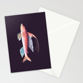 Sailed fish Stationery Cards