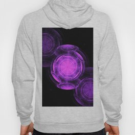 Purple Vortexes of Vortexes of Vortexes Hoody