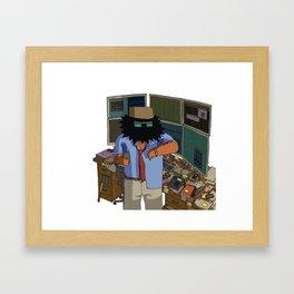 Trader Framed Art Print