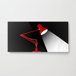 Angle Poise Metal Print