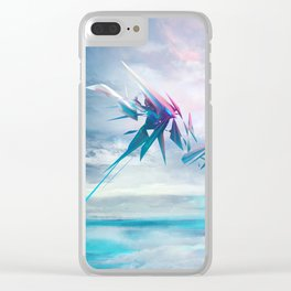 Symbiosis game concept art Clear iPhone Case