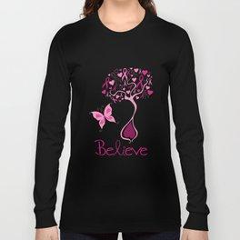 Breast Cancer Survivor Long Sleeve T-shirt