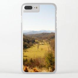 Fall in Carolina Clear iPhone Case