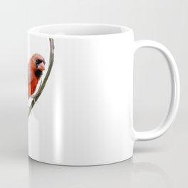 Male Northern Cardinal watercolor painting Coffee Mug