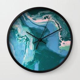Oceanic Flow Wall Clock