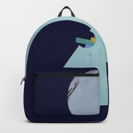 The Moon's Dark Side, prism, rainbow Backpack