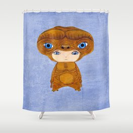 A Boy - E.T. the Extra-terrestrial Shower Curtain