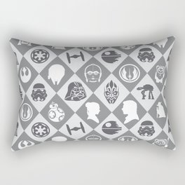 May the force be with u Rectangular Pillow