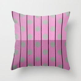 polka Throw Pillow