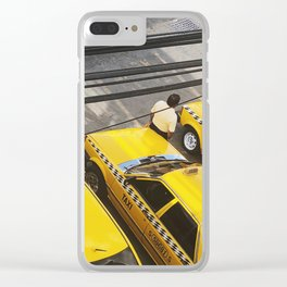 Everything Is Yellow Clear iPhone Case