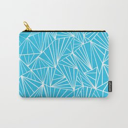 Ab Fan Electric Blue Carry-All Pouch
