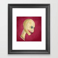Beauty Mask Framed Art Print