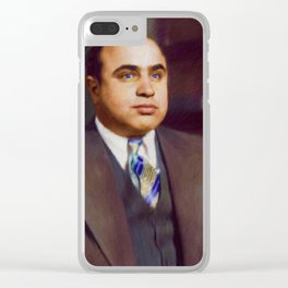 Al Capone, Gangster Clear iPhone Case