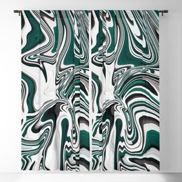 Melted Mint Blackout Curtain