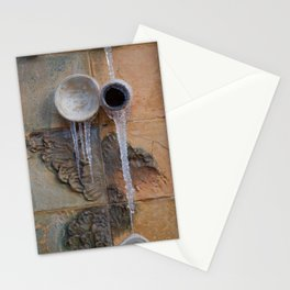 Between clay and ice Stationery Cards