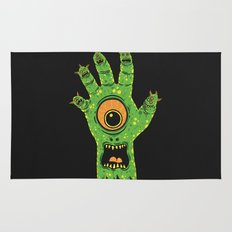 Finger Monsters Rug
