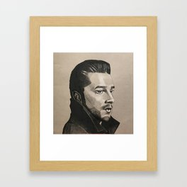 Shia LaBeouf Framed Art Print