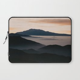 CLOUDY MOUNTAINS Laptop Sleeve