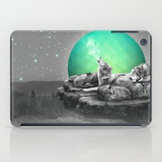 Echoes of a Lullaby / Geometric Moon iPad Case