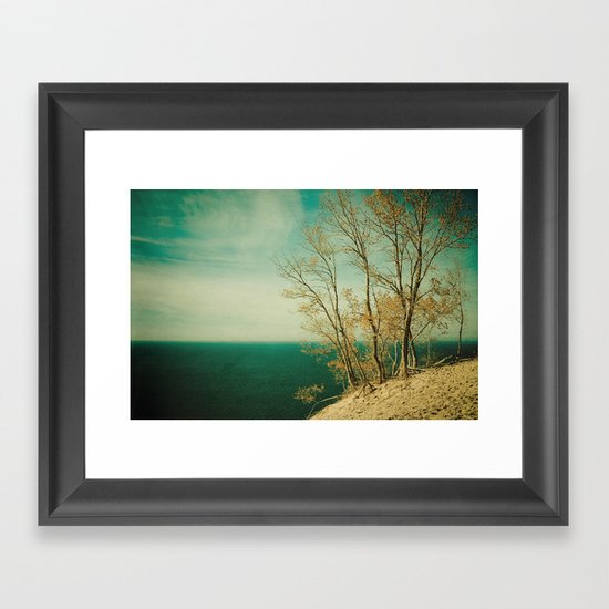 Dare to Leap Framed Art Print