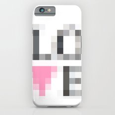 Exaggerated Pixelated LOVE Slim Case iPhone 6s