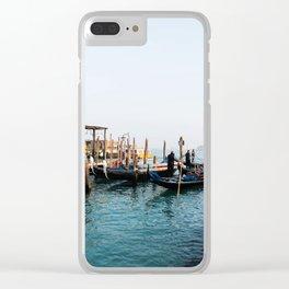 Gondola's. Clear iPhone Case