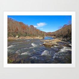 Arden River Art Print